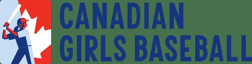 Canadian Girls Baseball logo